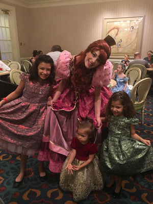 Kid's Dream Spotlight: Whole 9 Family Attends Cinderella's Dinner In Style