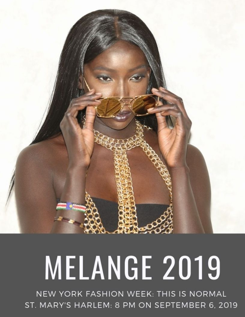 MELANGE 2019: Kid's Dream Featured Designer at NY Fashion Week