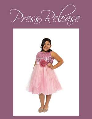 Girls Plus Size Dresses Kids Special Occasion Clothing Collection Launched