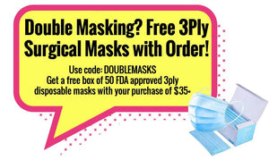 Double Masking? We got you! Free 3Ply Surgical Masks!
