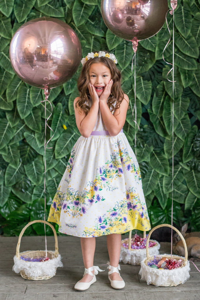 Kid's Dream Easter Cotton Dress