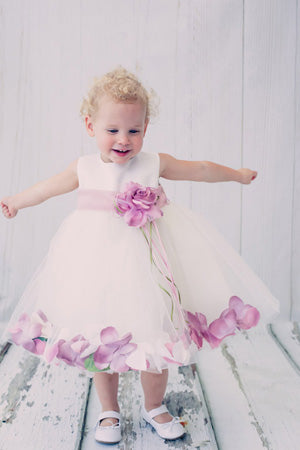 Baby Dress with Roses