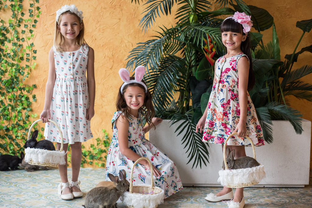 Kids Dream 2019 Easter Cotton Dress Collection