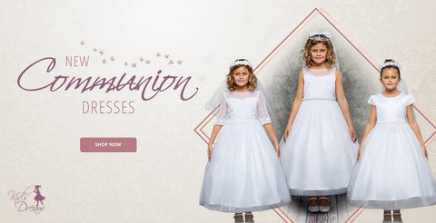 First Communion Dress Shopping Guide