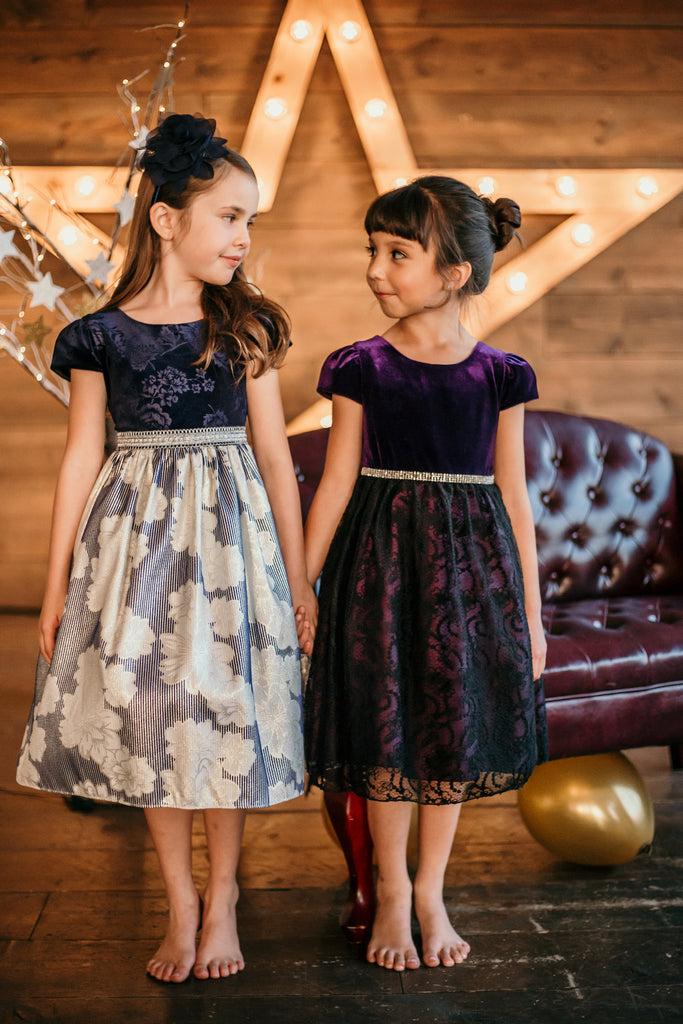 Kid's Dream Fall Winter Dress Collection Holiday Dress