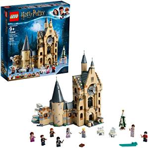What's the best LEGO set for the holidays?  LEGO Harry Potter and The Goblet of Fire Hogwarts Clock Tower