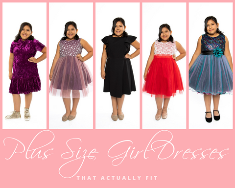 Plus Size Girl Dresses that Actually Fit