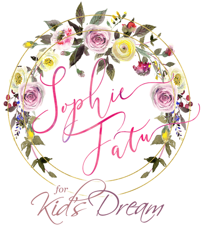 Sophie Fatu Dress Collection with Kid's Dream