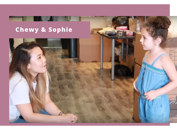 Sophie Fatu Interview with Kid's Dream Chewy Jang