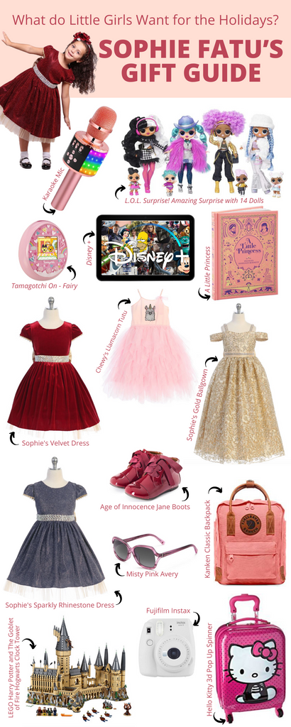 What do Little Girls Want for the Holidays? Sophie Fatu's Gift Guide