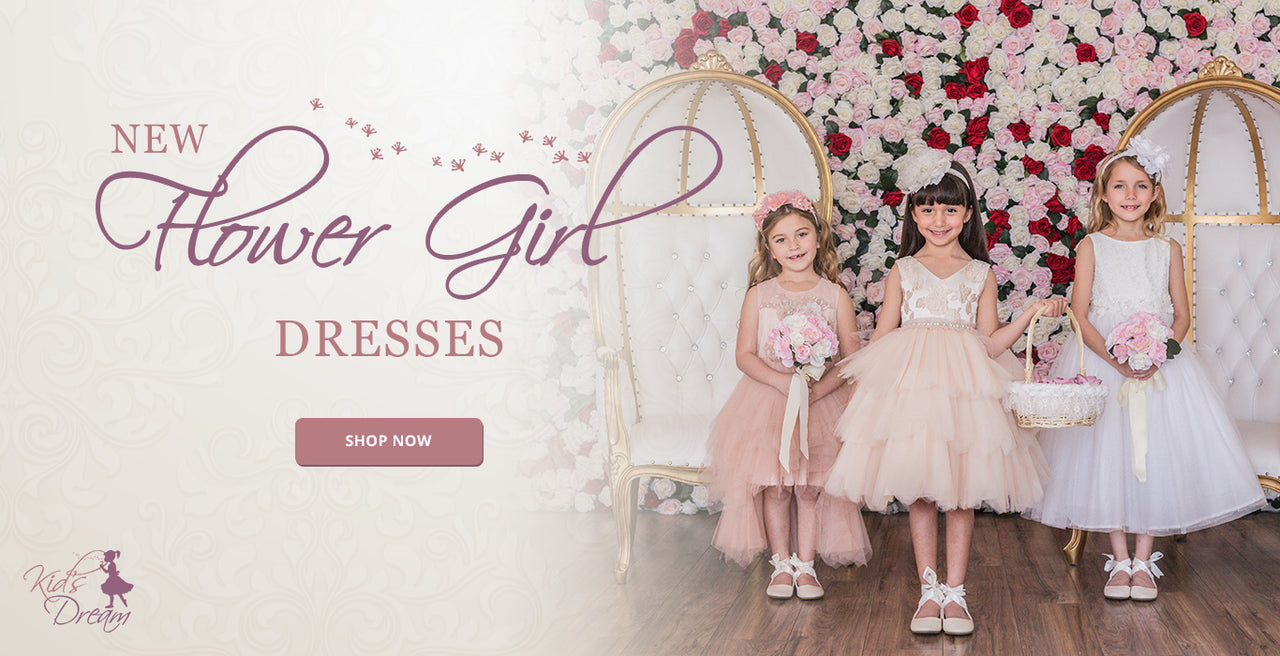 cacc51bd ... New Flower Girl Dresses - Shop Now