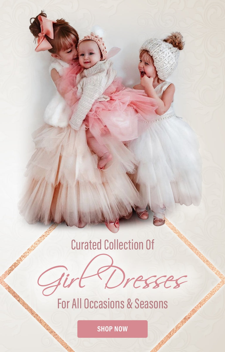Curated collection of girl dresses for all occasions & seasons - Shop Now
