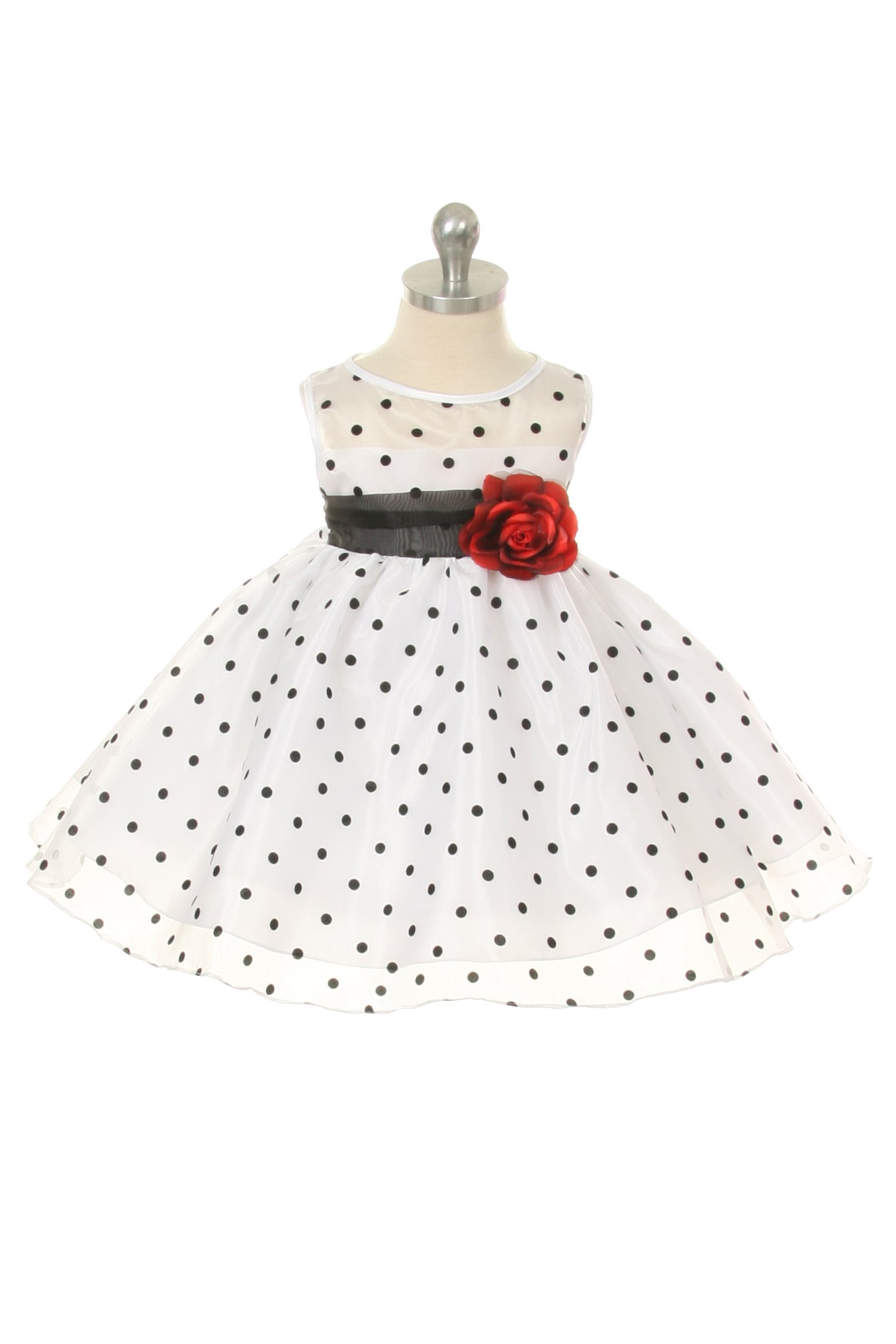 Organza Polkadot Baby Dress Lilac Kid s Dream