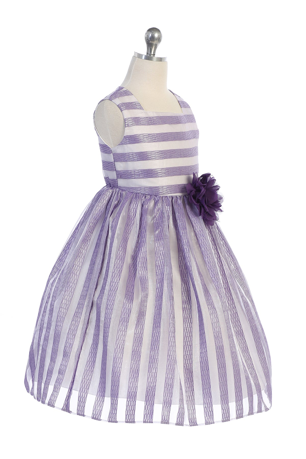 2-Tone Stripe Dress