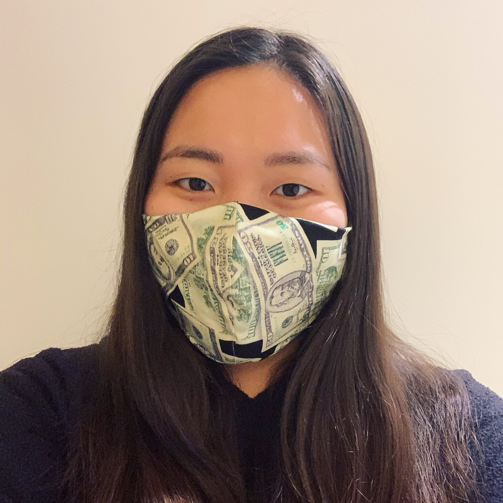 Money Face Mask with Filter