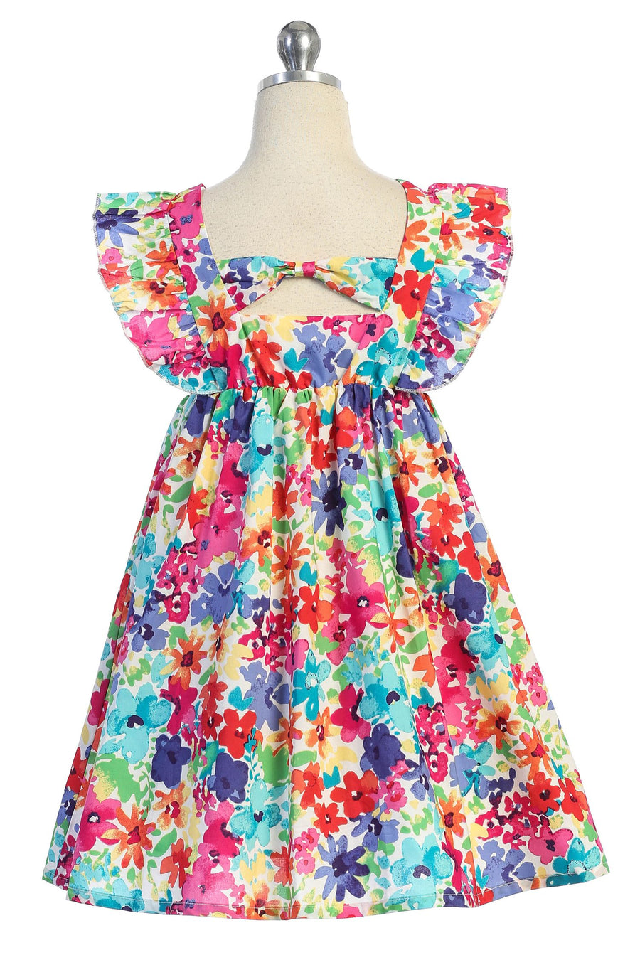 Floral Cotton Dress