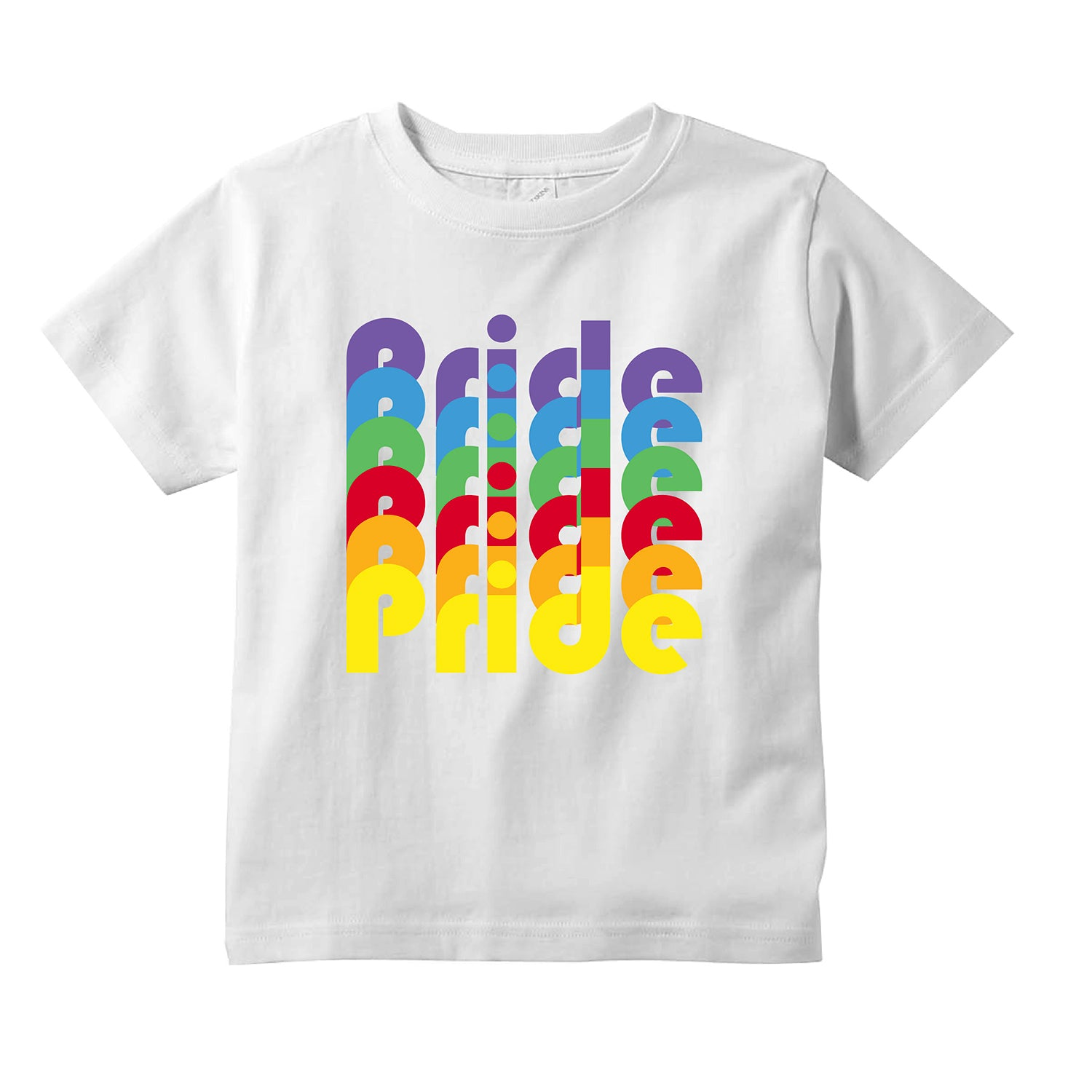 Pride Kids T-Shirt + FREE Love is Love Pride Face Mask