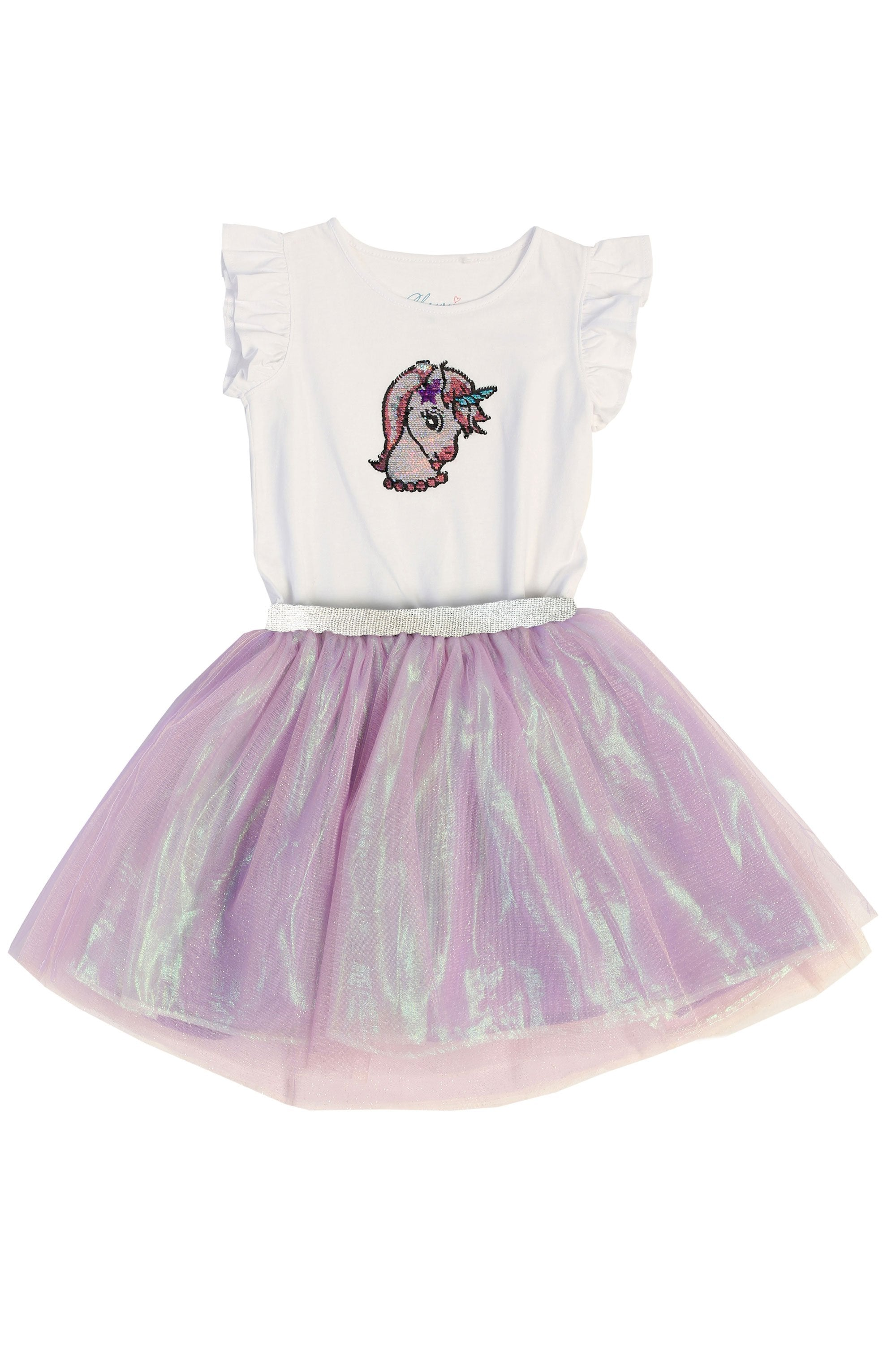 Unicorn Shirt + Tutu Skirt