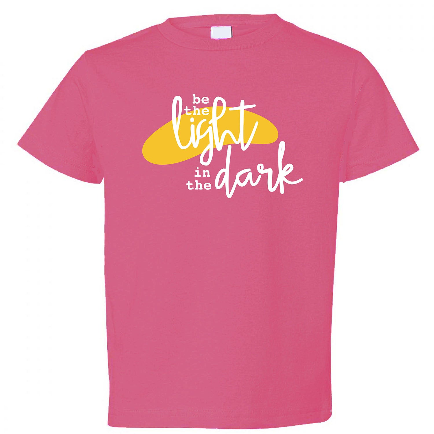 Be The Light in The Dark Kids T-Shirt