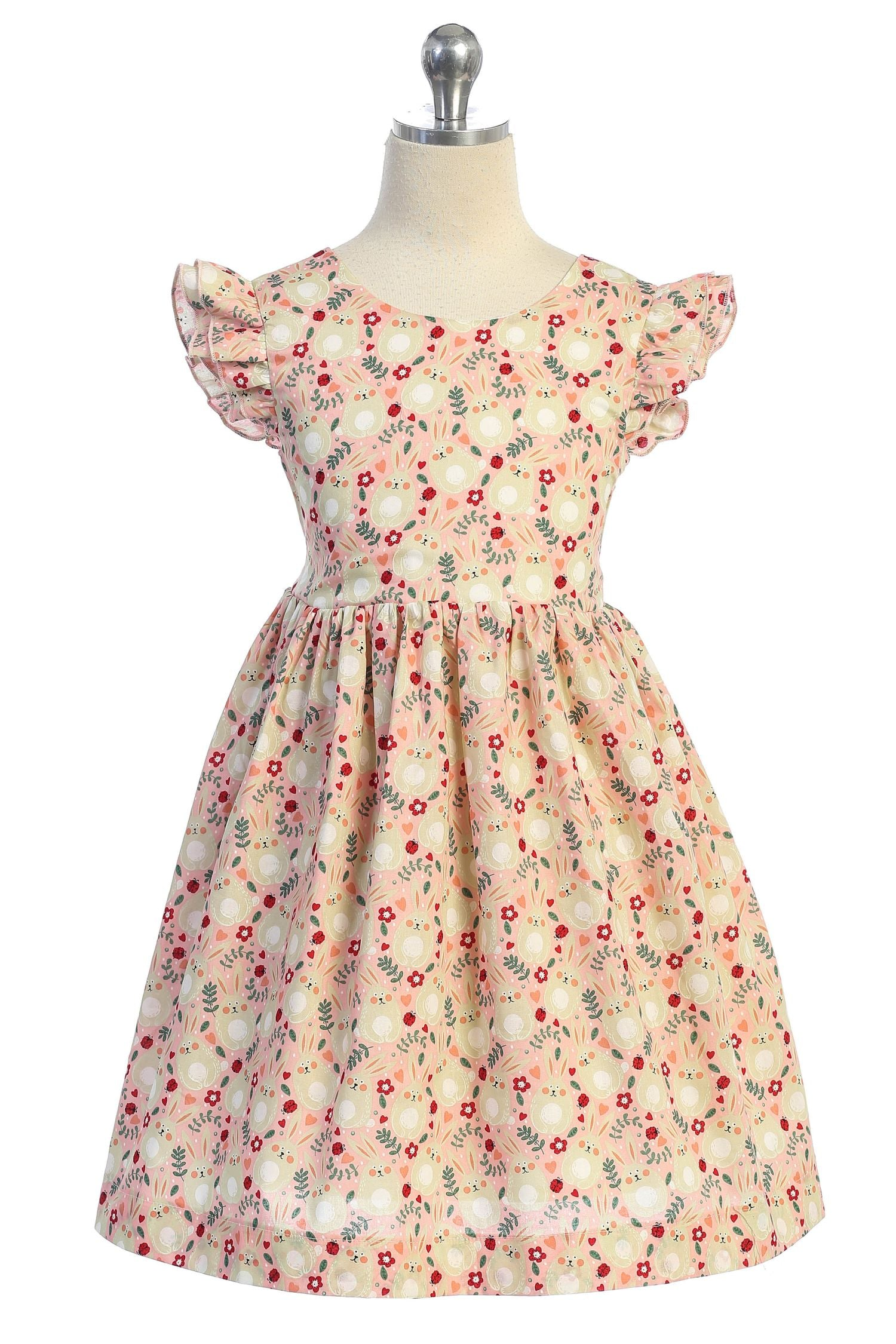 Bunny Cotton Dress