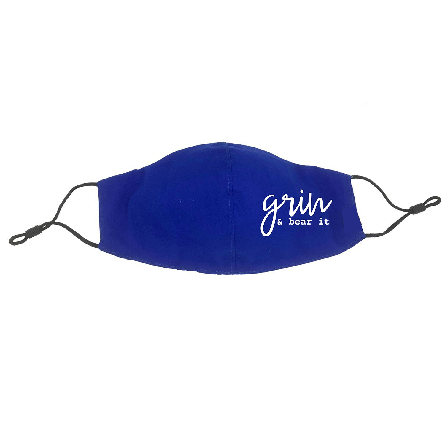 Grin and Bear It Face Mask (Adult Size)