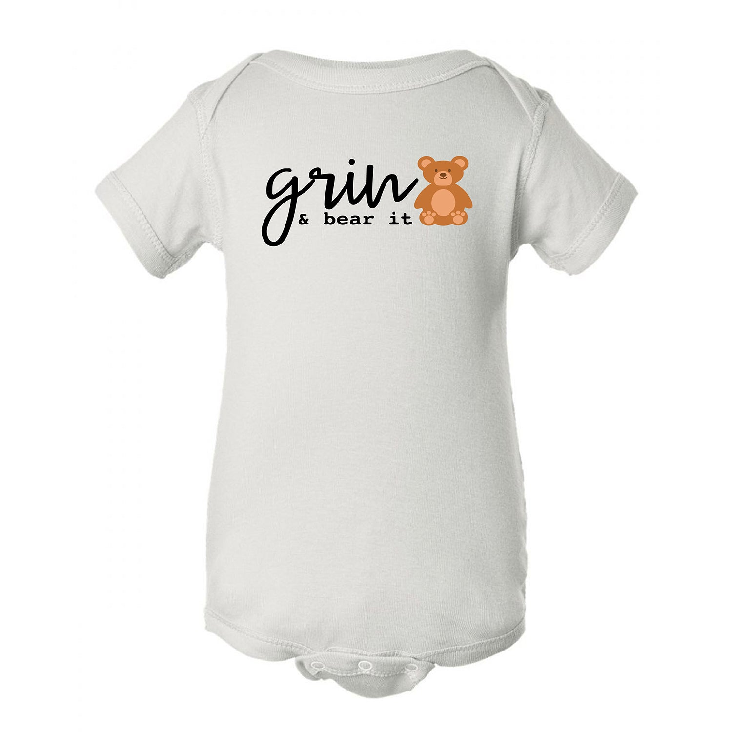 Grin and Bear It Onesie