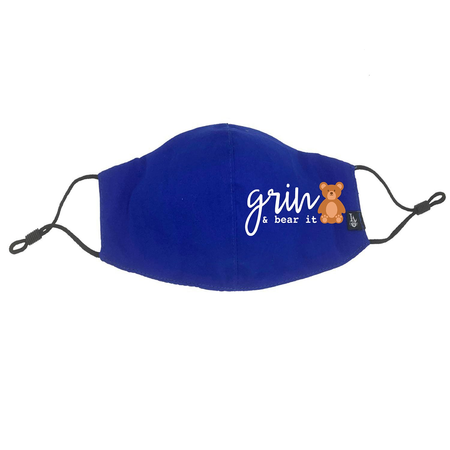 Grin and Bear It Face Mask (Kid Size)