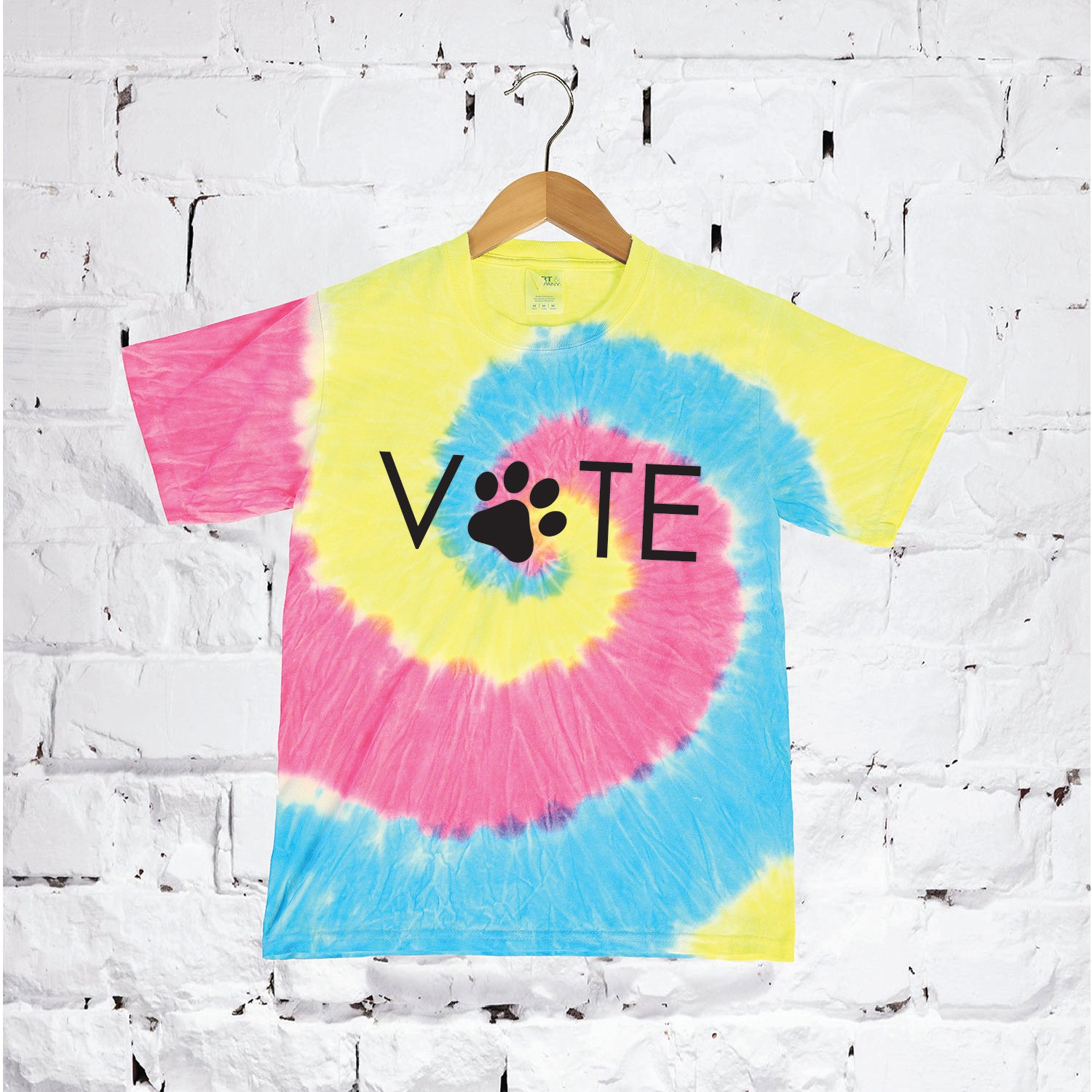 Paw Print Vote T-Shirt