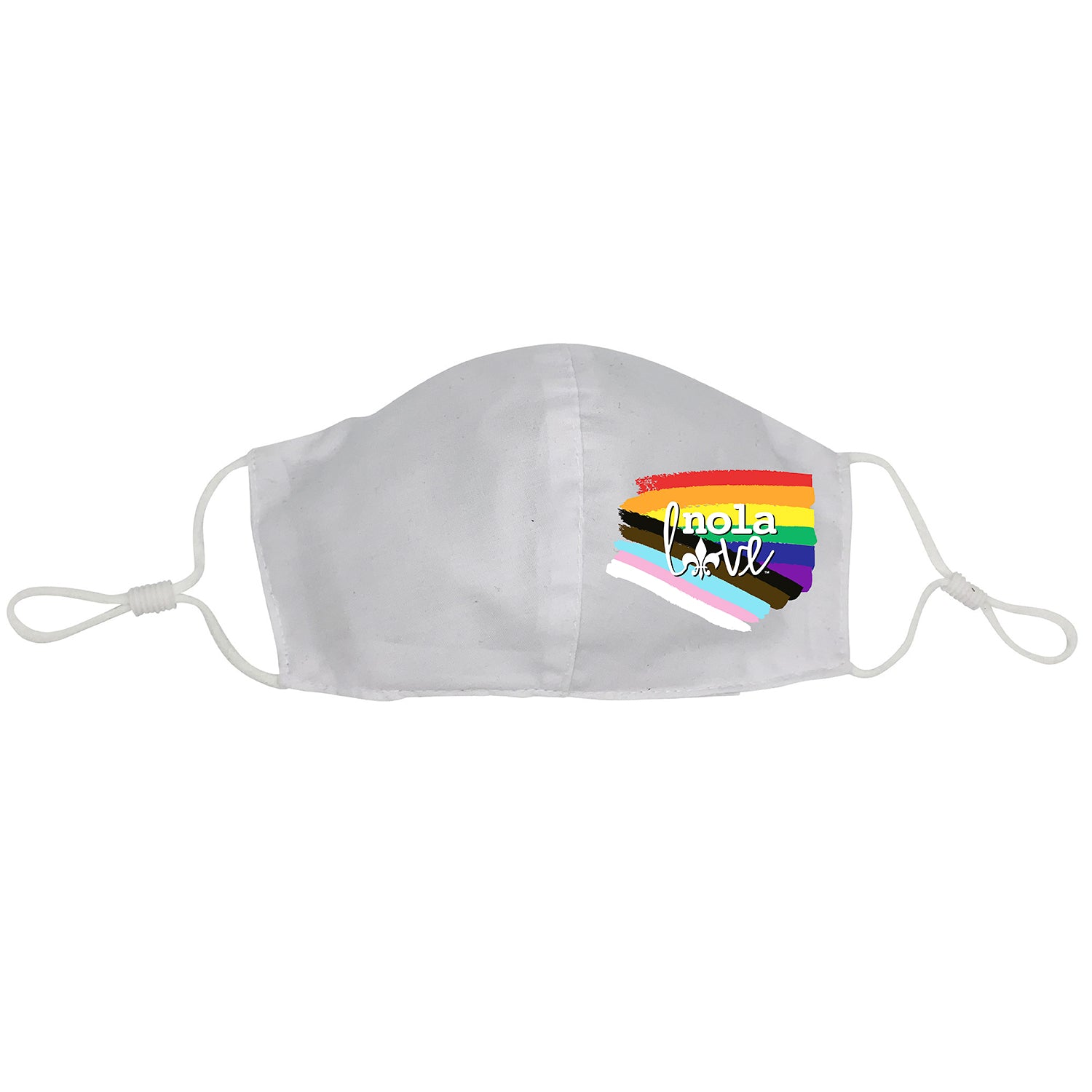 Rainbow Nola Love Face Mask