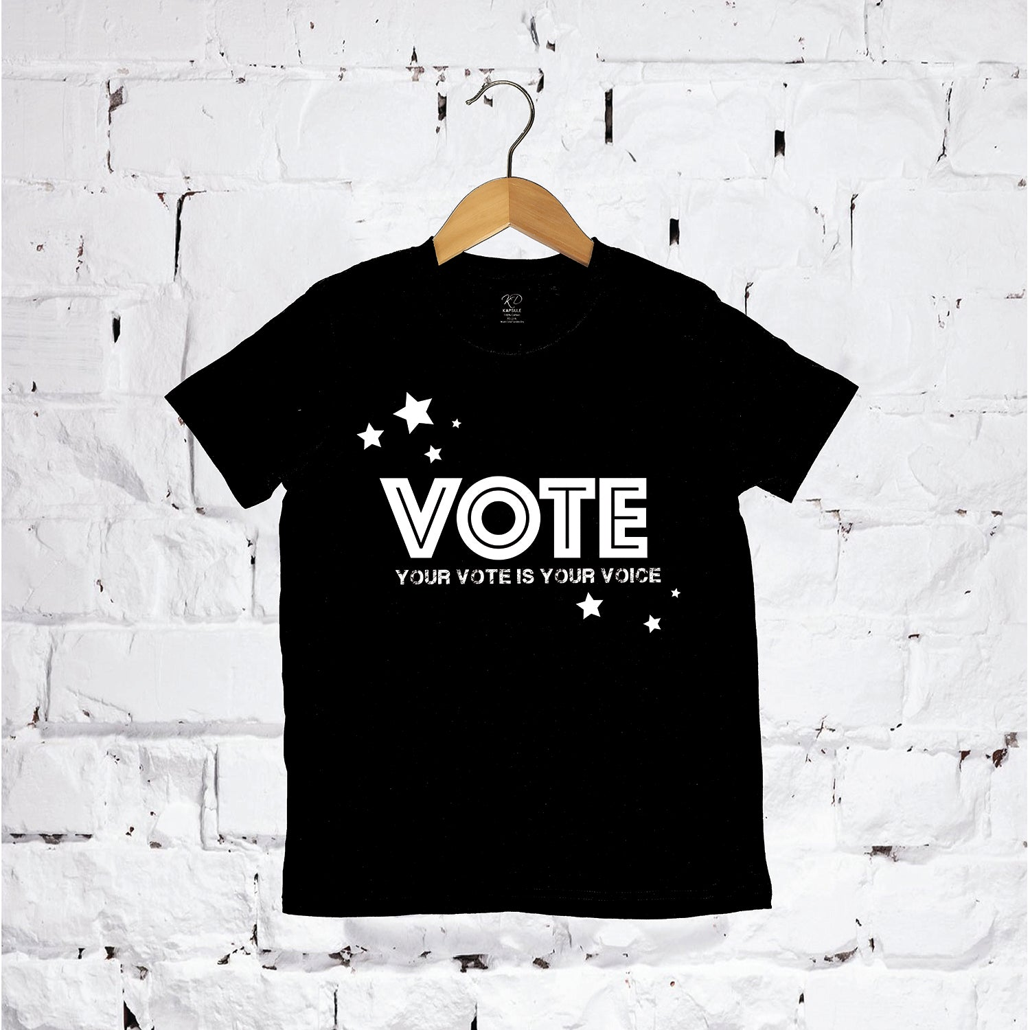 Little Stars Vote T-Shirt