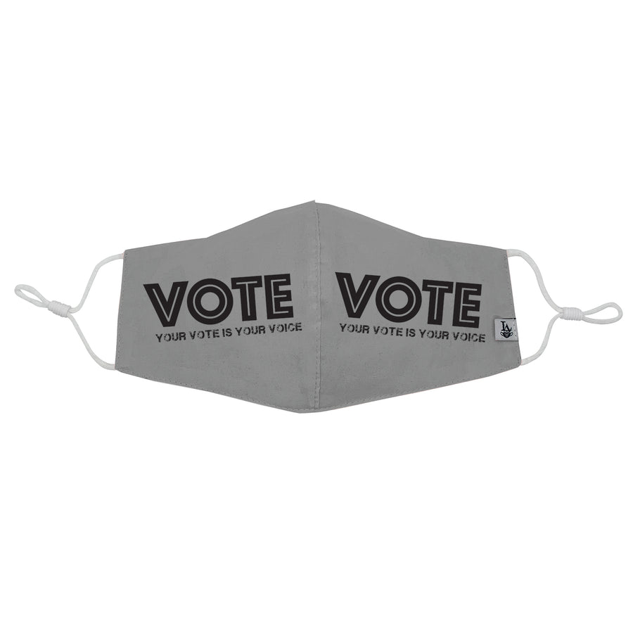 """Your vote is your voice"" VOTE Mask"