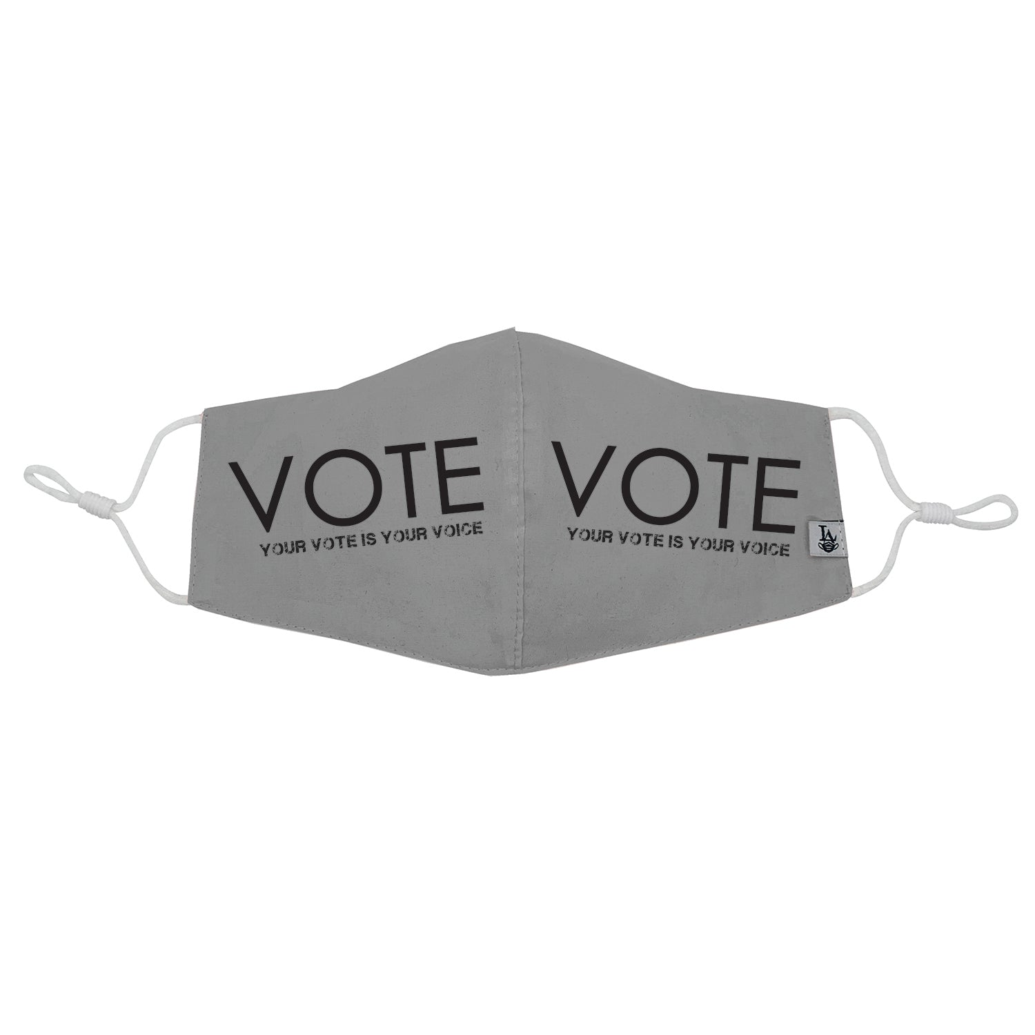"Modern ""Your vote is your voice"" VOTE Mask"