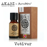 PURE ORGANIC VETIVER ESSENTIAL OIL FOR AUTISM/ADHD