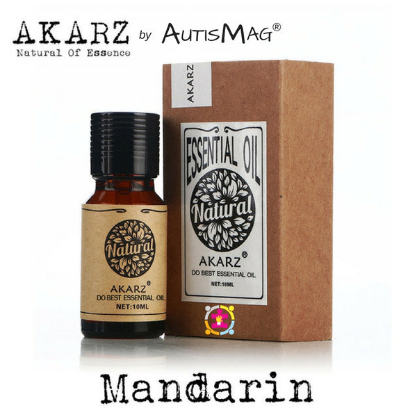 PURE ORGANIC MANDARIN ESSENTIAL OIL FOR AUTISM/ADHD