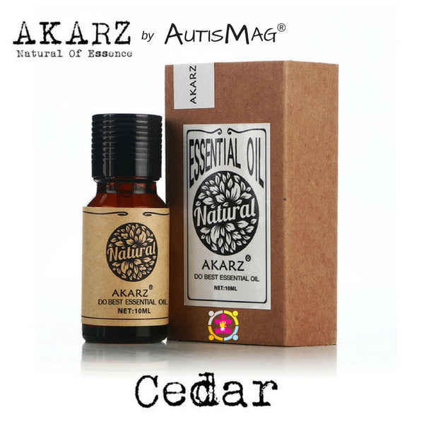 PURE ORGANIC CEDAR WOOD ESSENTIAL OIL FOR AUTISM/ADHD