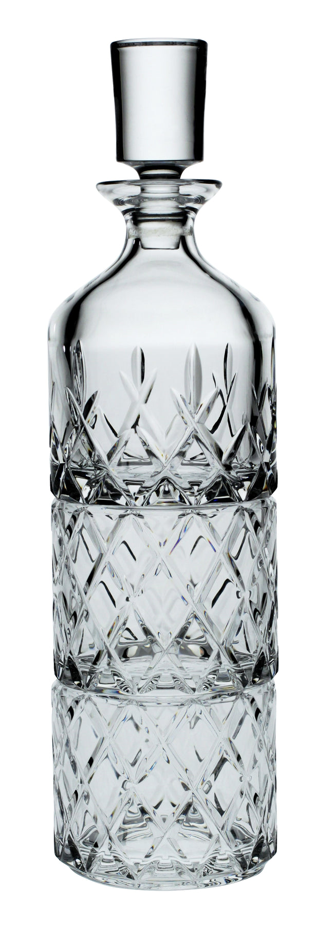 Crystal 3 Piece Whisky Set