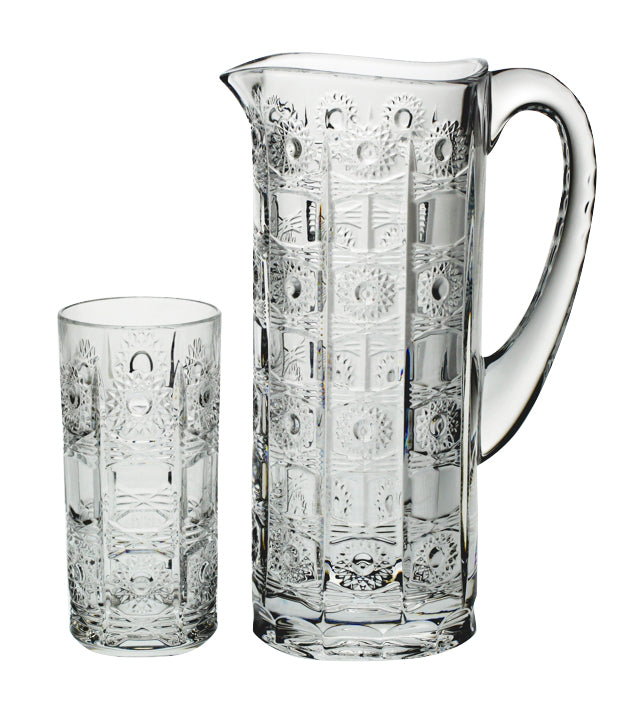 Crystal 5 Piece Water Set