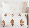 Laya Ivory Embroidered 30x50 Cushion