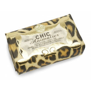 Chic Bronze Leopard Soap