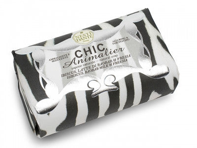 Chic White Tiger Soap