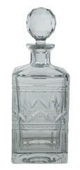 Square Cut Whiskey Decanter