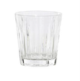 Ribbed Glass Whiskey Tmbler