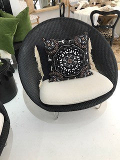 Cooper Lounge Chair With Cushion Black