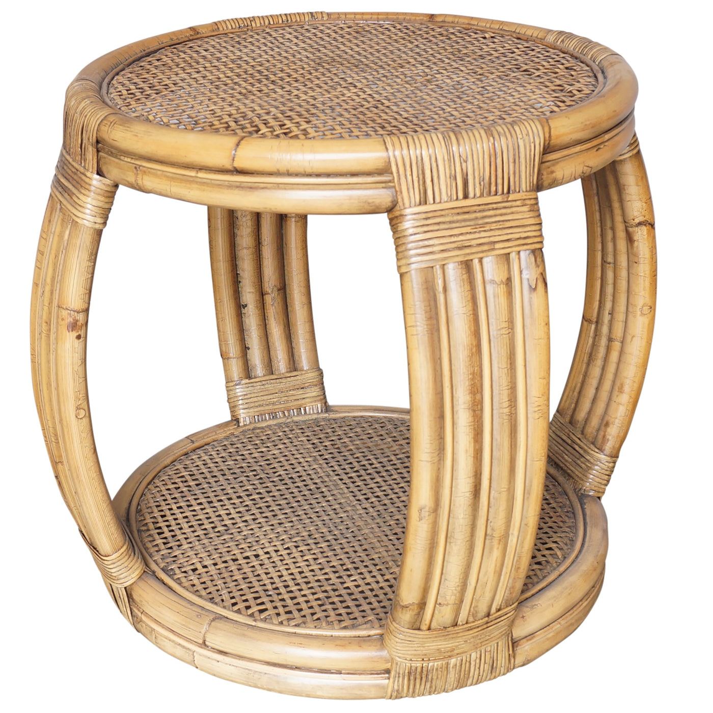 Island Rattan Side Table