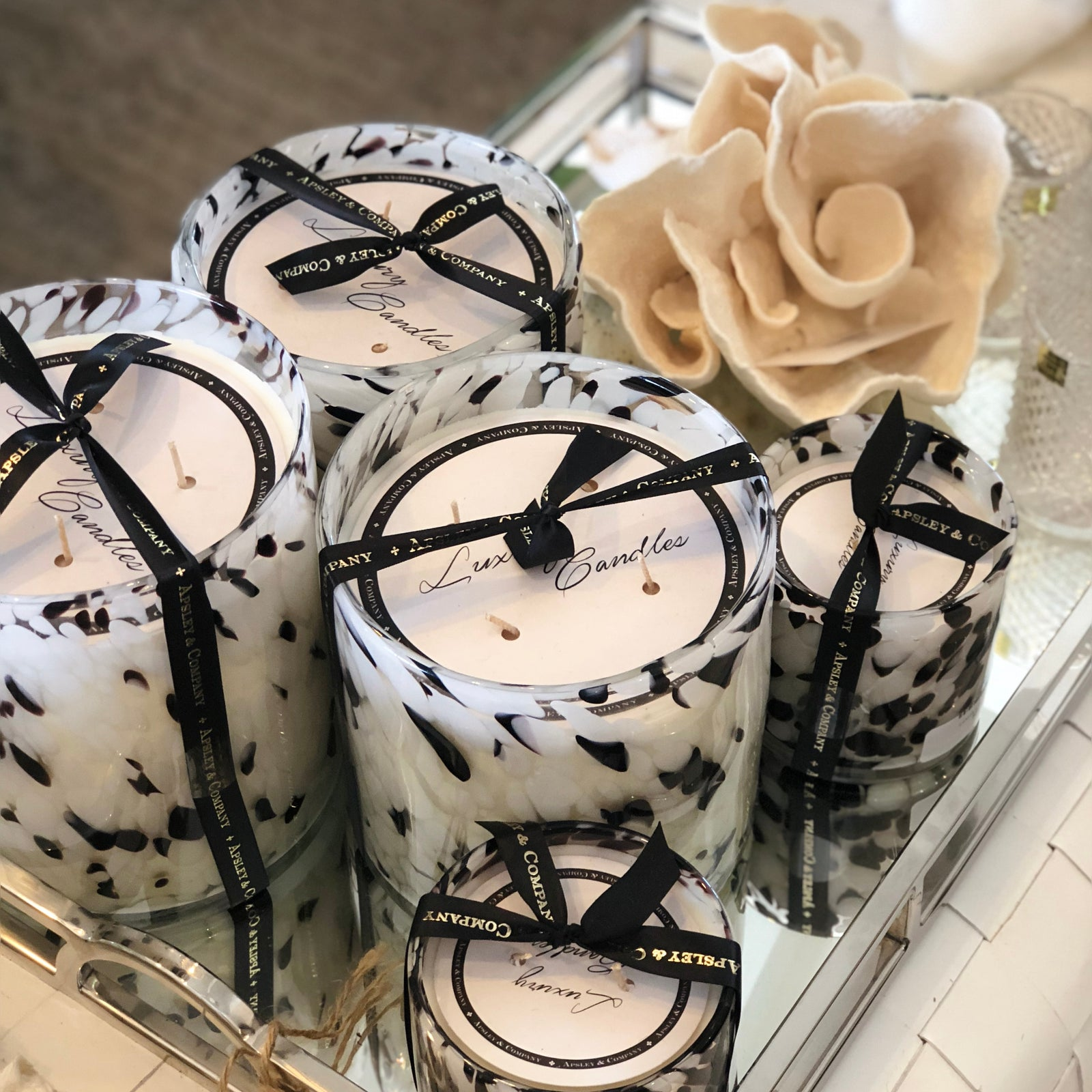 Luxury Candle Santorini