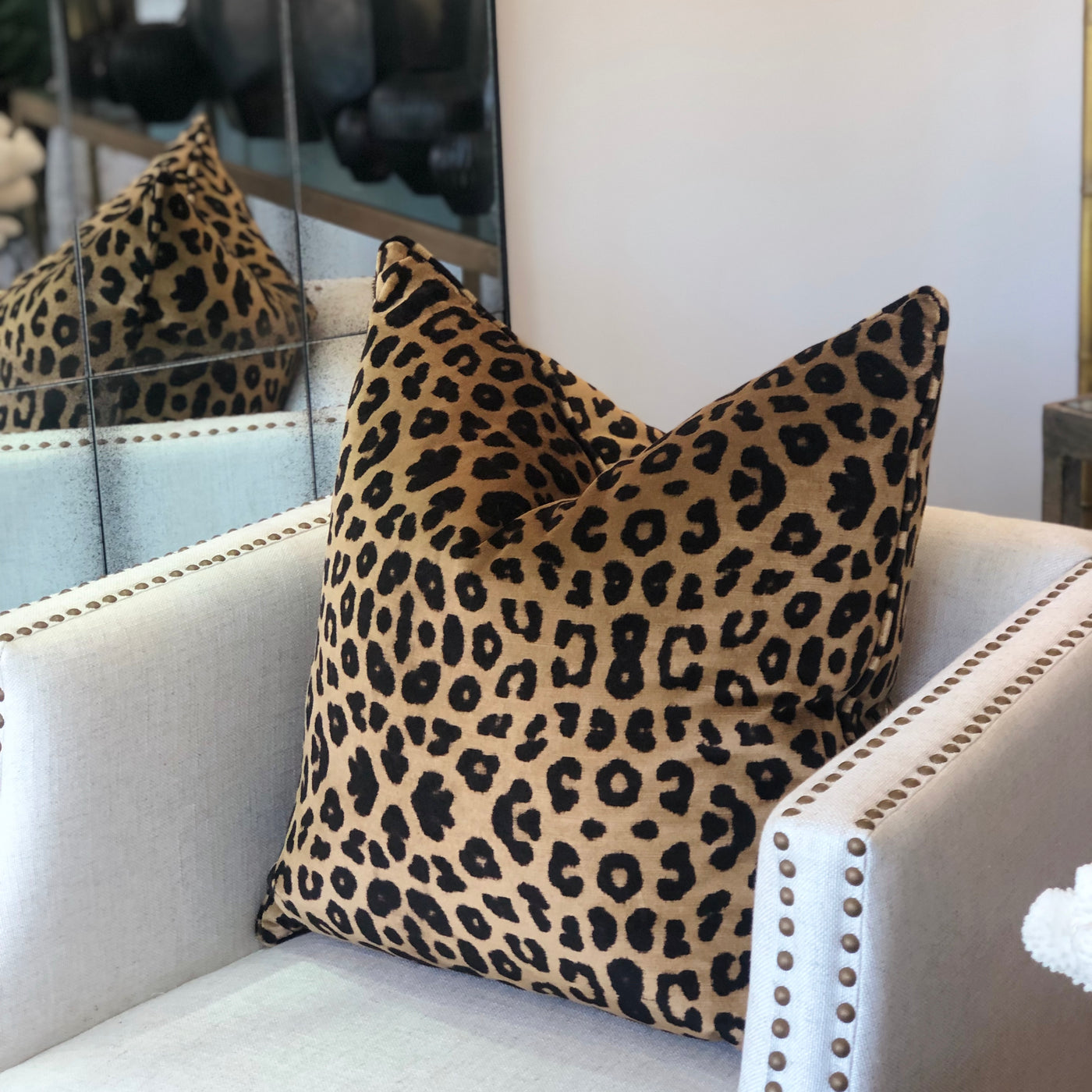 Chilanga Leopard Cushion Full