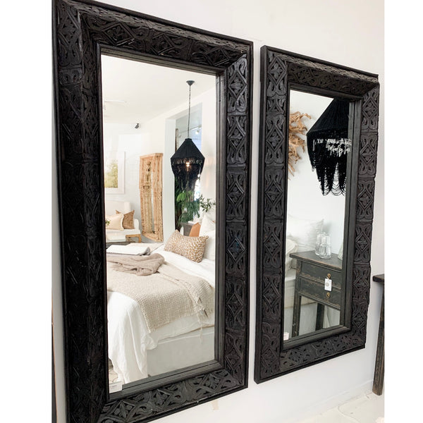 Tribal Rectangle Mirror