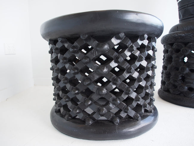 Bamileke Table Black 53-57cm