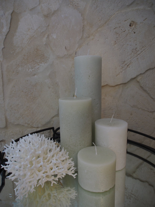 Chapel Candle - Large - Cream