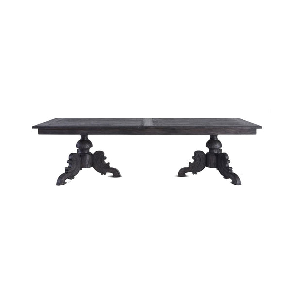 Black Extension Table 2.8m to 3.4m